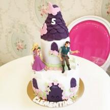 Gâteau Chateau Raiponce