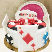 Gâteau Poker