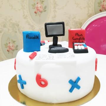 Gâteau Comptable