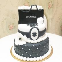 Gâteau Fashion bag grand modèle