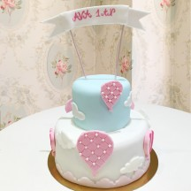 Gâteau Montgolfiere