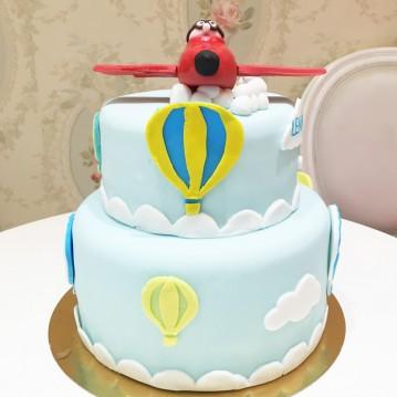 Gâteau helicoptere
