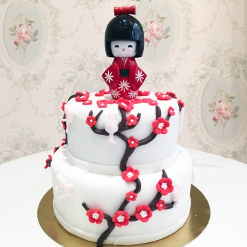 Gâteau Kokeshi