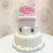 Gâteau Boite à bijoux