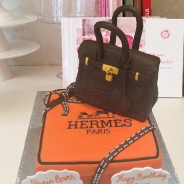 Gâteau Sac et sa boîte