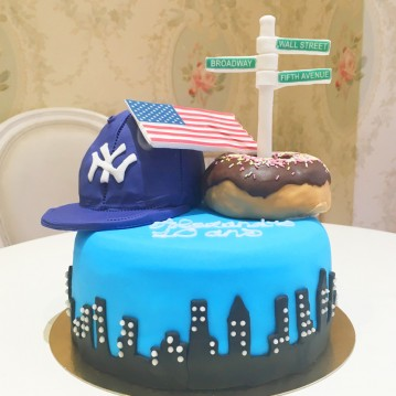 Gâteau New York Donuts