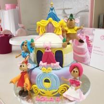 Gâteau Cendrillon Palais