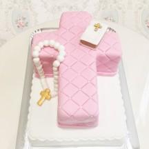 Gâteau Communion Croix