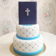 Gâteau Communion Livre