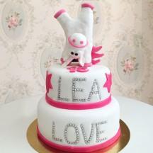 Gâteau Licorne Swag