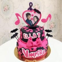 Gâteau Chica Vampiro 2