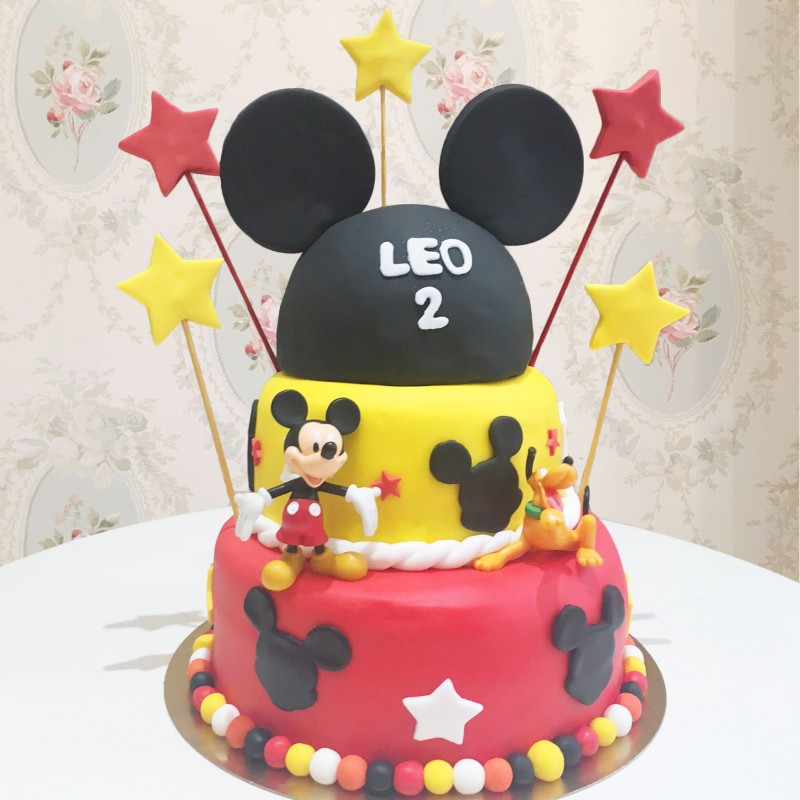 Mickey en gateau arts culinaires magiques - Gateau mickey facile ...