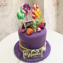 Gâteau Charlie et la Chocolaterie