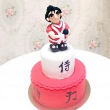 Gâteau Samouraï