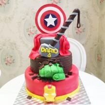 Gâteau Avengers Pièce montée