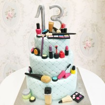 Gâteau Maquillage Complet