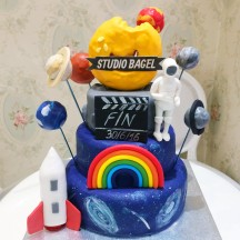 Gâteau Espace