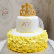 Gâteau Couronne et Tutu