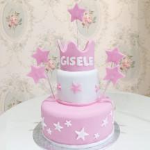 Gâteau Couronne et Etoiles