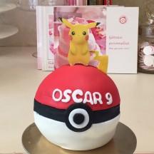Gâteau Pokeball Pikachu