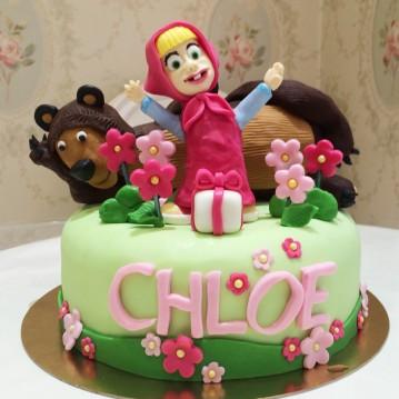 Gâteau Masha et Michka