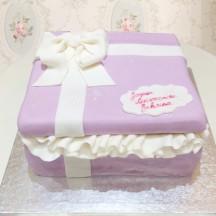 Gâteau Boite à cadeau