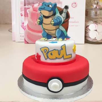 Gâteau Pokemon Tortank