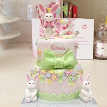 Gâteau Lapin Printemps
