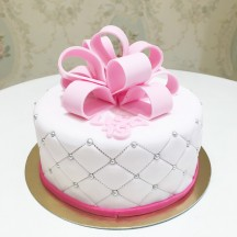 Gâteau Noeud Couture