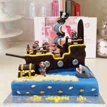 Gâteau Bateau Pirate GM