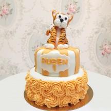 Gâteau Tigre rosace