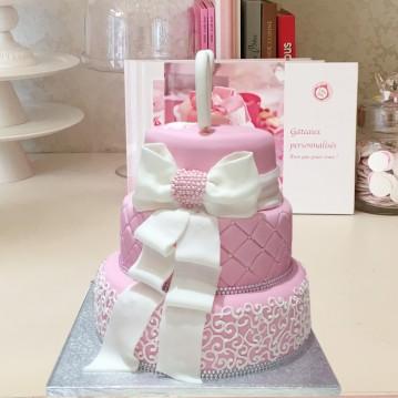 Gâteau Piece Montée Noeud Arabesque