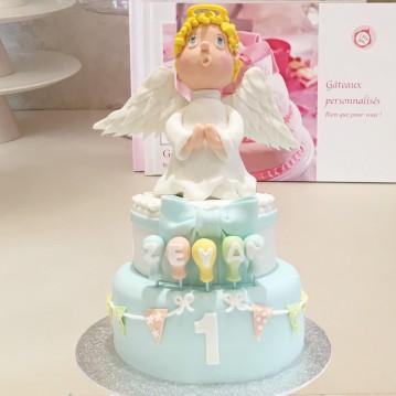 Gâteau Ange Sculpture