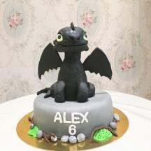 Gâteau Dragons