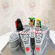 Gâteau Lego Faucon Millenium