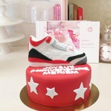 Gâteau Air Jordan Sculpture