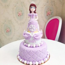 Gâteau Princesse Sofia Sculpture