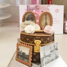 Gâteau Malle et Voyage