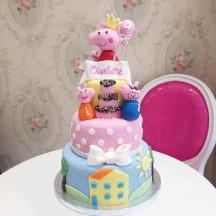 Gâteau Peppa Pig 2