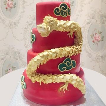 Gâteau Dragon 3D