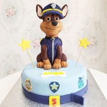 Gâteau Chase Pat Patrouille