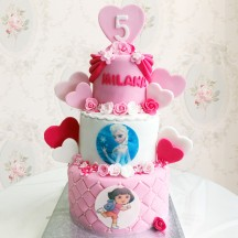 Gâteau Princesse PM Rose