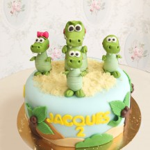 Gâteau Crocodiles Mignons