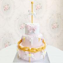 Gâteau Manèges Fille