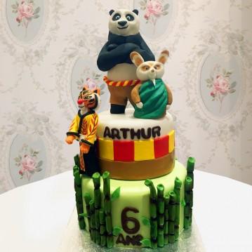 Gâteau Kung Fu Panda