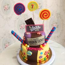 Gâteau Willie Wonka Chocolat