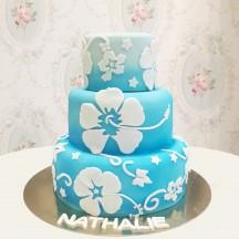 Gâteau Tahiti