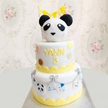 Gâteau Tête de Panda