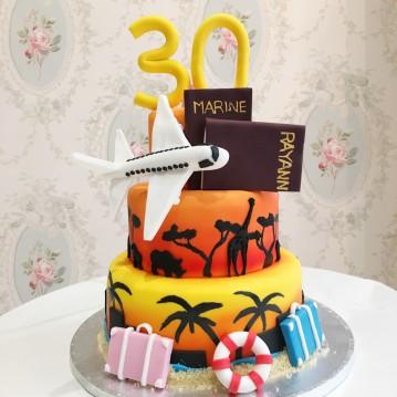 Gâteau Voyage