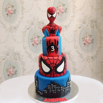 Gâteau Spiderman PM